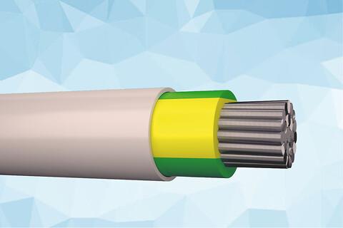 HIKJ-AL 1 kV halogenfri installationskabel 90°C
