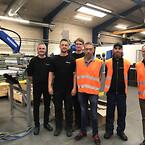 SP Moulding løser produktionsstop hos kunden med ny robotløsning fra Blaaholm