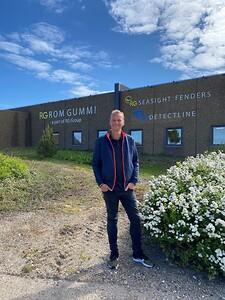 direktør jesper berg kristensen kan i år fejre sit 25 års jubilæum hos RG Rom Gummi