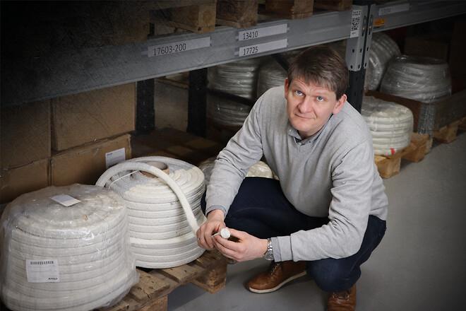 Glasfiberpakninger, keramiske pakninger