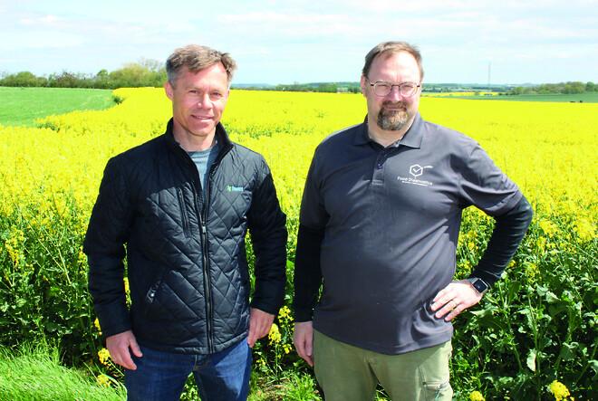 Salgschef DanVit og Tonny FoodDiagnostics