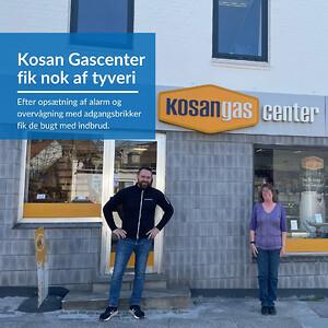 Kosan Gascenter i Horsens fik nok af tyveri