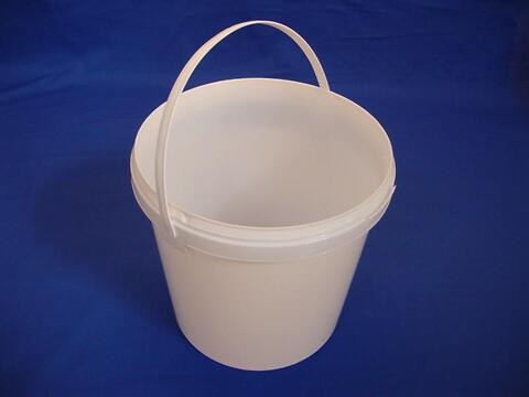 Plastsp EZE10001 - 10,3 l. m/blødt bånd-hvid