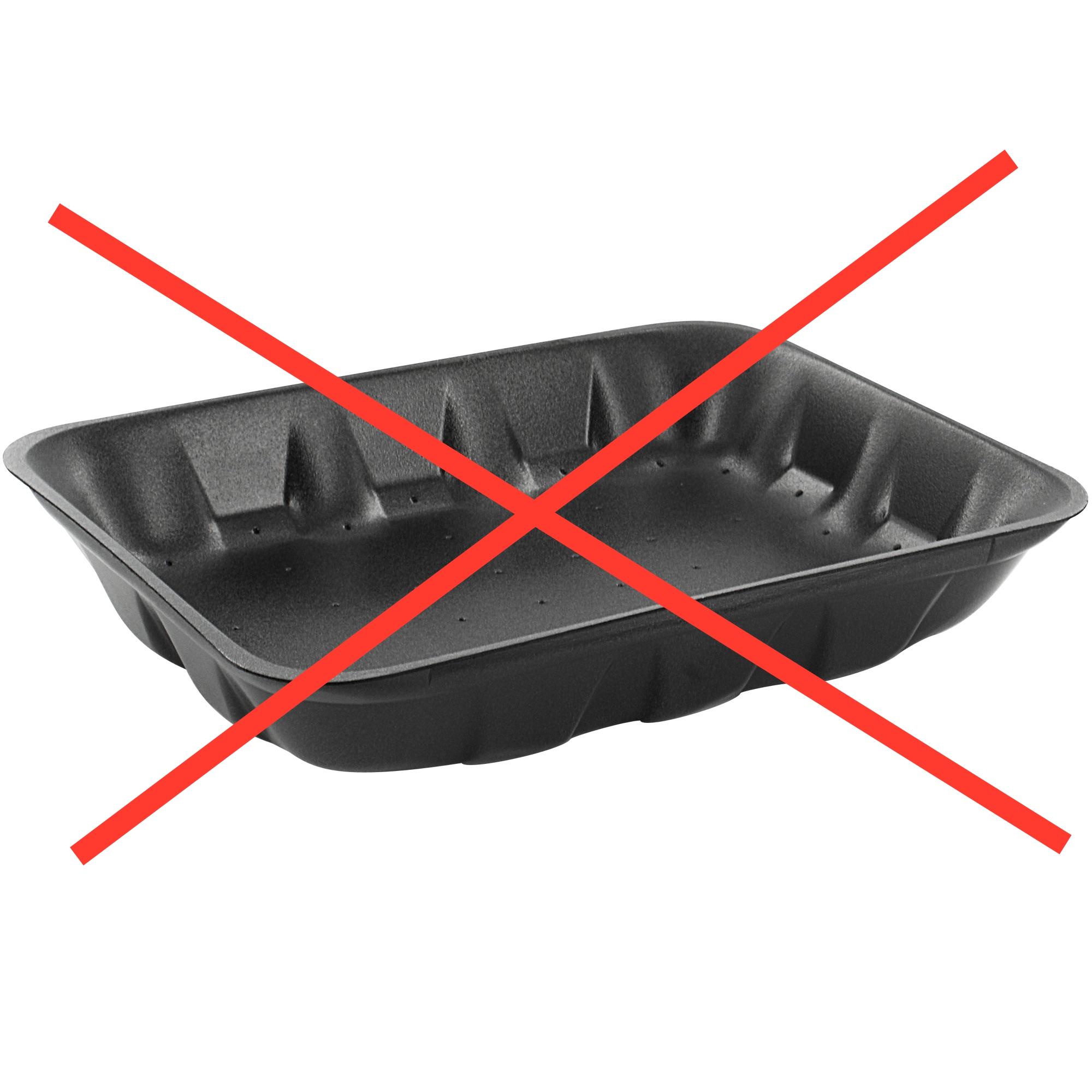 Unika Stoppar svart plast - Recycling QT-59