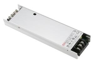 LSP-160 en super flad strømforsyning fra Mean Well. Forhandler er Power Technic.