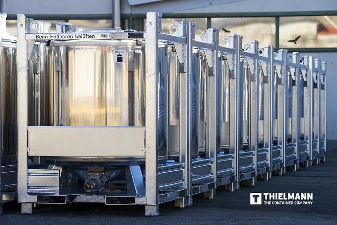Container systemer for pulver og væsker
