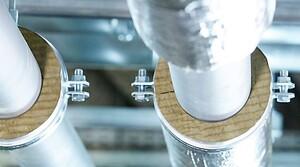 TECLIT Hanger - marknadens första distansrörskål i stenull.