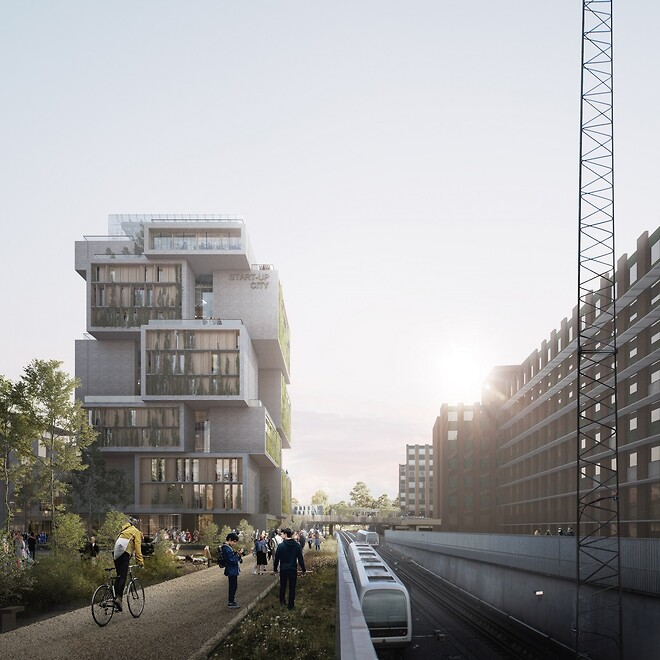 Start-up City - Illustration Schmidt Hammer Lassen Architects