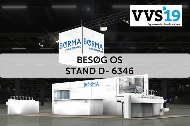 Børma - VVS'19 Messe Stand D-6346
