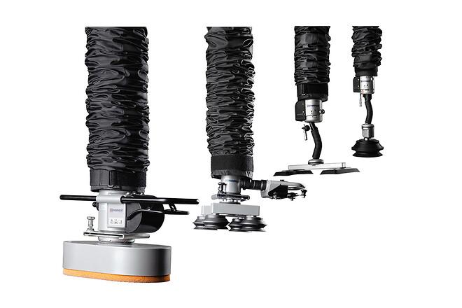 Vakuumlyftare för att lyfta säckar - kartonger - skivor - Movomech vakuumlyftar Vacuhand Easyhand