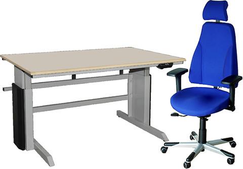 Ergonomiske arbejdsborde og stole fra BLEVA A/S
