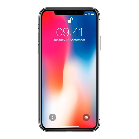 Apple iPhone X 256GB (Space Gray) - Grade C - mobiltelefon
