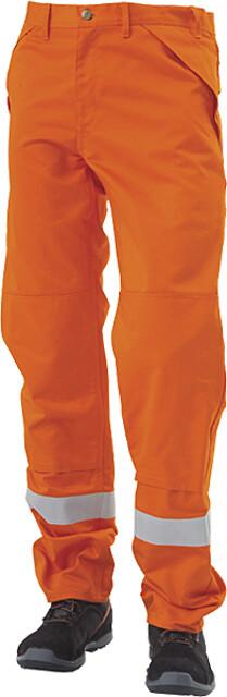 Arbejdsbukser, orange - 12101
