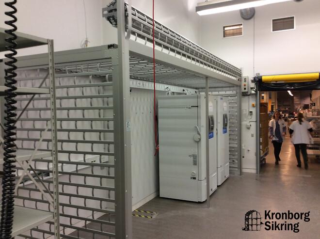 Kronborg Sikring fik en haste opgave som vi har løst for opbevaring af Corona Covid-19 vacciner i Danmark .