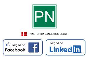Følg PN Beslag på Facebook og LinkedIn