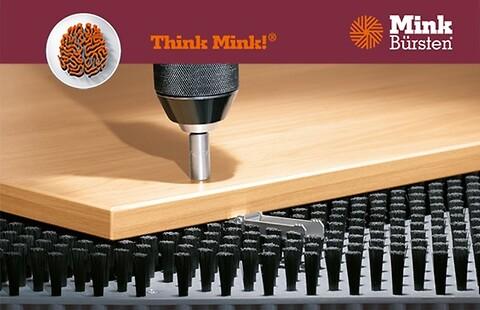 Undgå ridser med MINK børster - Mink Care System