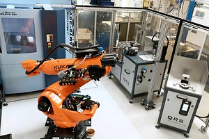 QRS Quality Robot Systems, Robotautomation, Robot, CNC, Robotautomatiseret bearbejdningscenter
