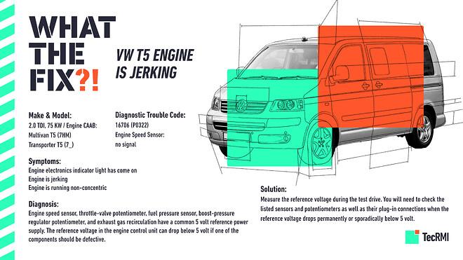 "\""What the Fix?!\"" Repair case VW T5"