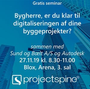bygherre digitalisering gratis seminar Blox SfB Autodesk software byggeri