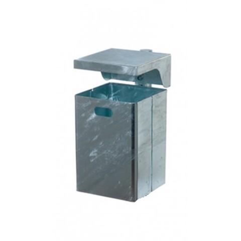 Affaldsbeholder m/låg 40 l