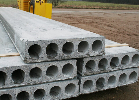 Xtrumax huldæk - Spæncom producerer extruderede dæk i tykkelserne 180, 220, 270, 320 og 400 mm - for passiv og moderat miljøklasse.