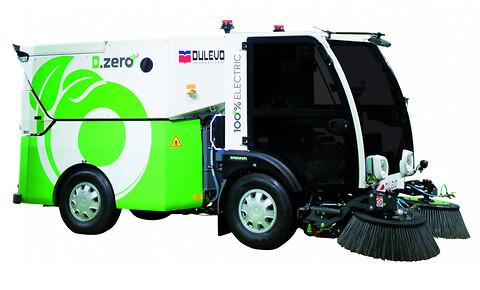 Dulevo D.Zero 100% elektrisk feiemaskin fra Norclean AS