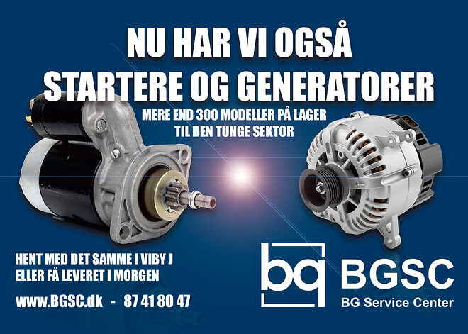 Startere og generatorer Viby Aarhus stort lager