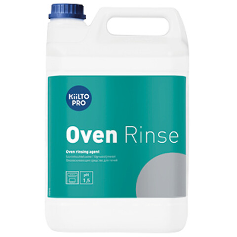 Kiilto Oven Rinse - effektiv afspænding til selvrensende ovne.