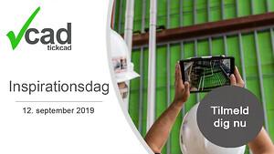 Tick Cad inviterer til en dag med workshops, sparring og værdifuld networking. For størst muligt udbytte af dagen anbefaler vi, at du allerede nu booker dine pladser på op til 4 af dagens 23 sessioner.