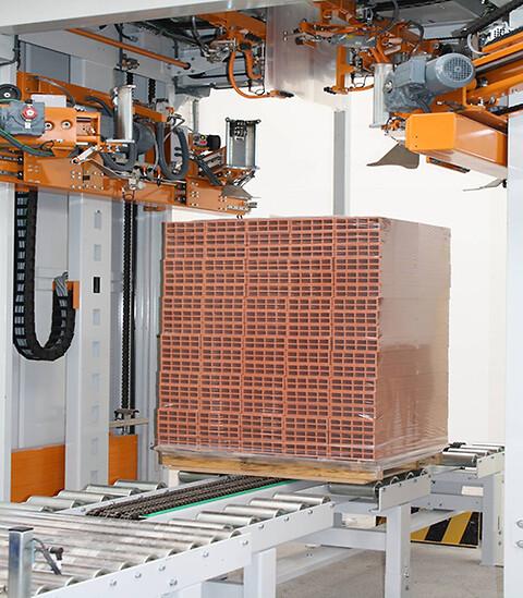 Unitech SH500 - Palleemballering, Hættestrækmaskine, Unistretch, Hættestrækfilm, Godspakkede paller,