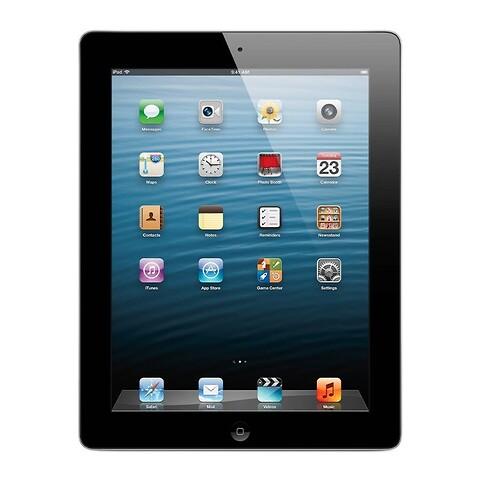 Apple iPad 4 32GB WiFi (Sort) - Grade B - tablet