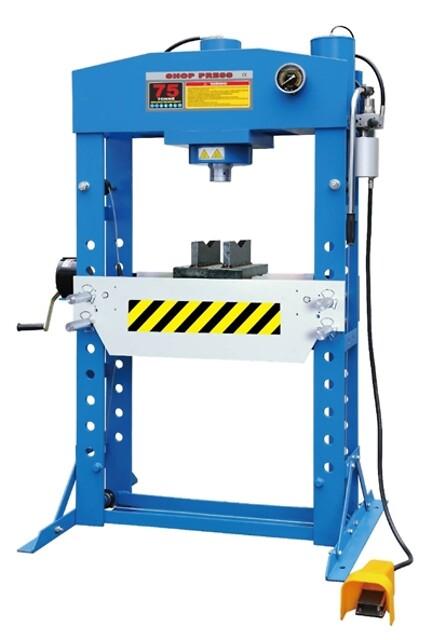 Luft hydraulisk presse 75T pro