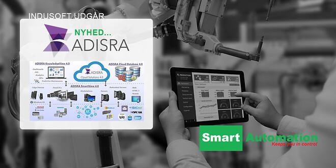 INDUSOFT udgår og erstattes af ADISRA hos Smart Automation ApS