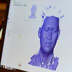 3D scanning af ansigt på hi19