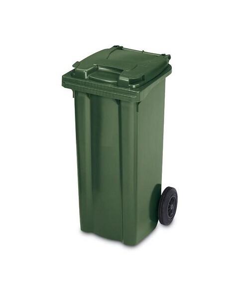 Affaldscontainer 2-hjulede 80 l - grøn