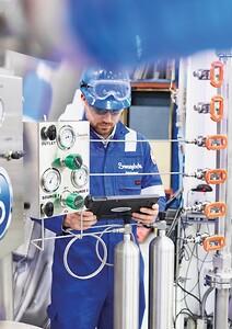 Swagelok Norway (SVAFAS) gir global støtte gjennom et nettverk av Field Engineers