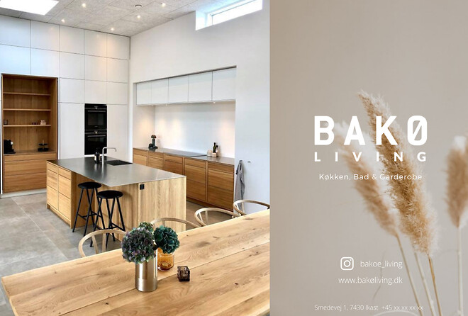 BAKØ Living - Specialdesignet inventar til private