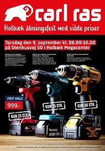 Kom til åbningsfest i Holbæk Megacenter