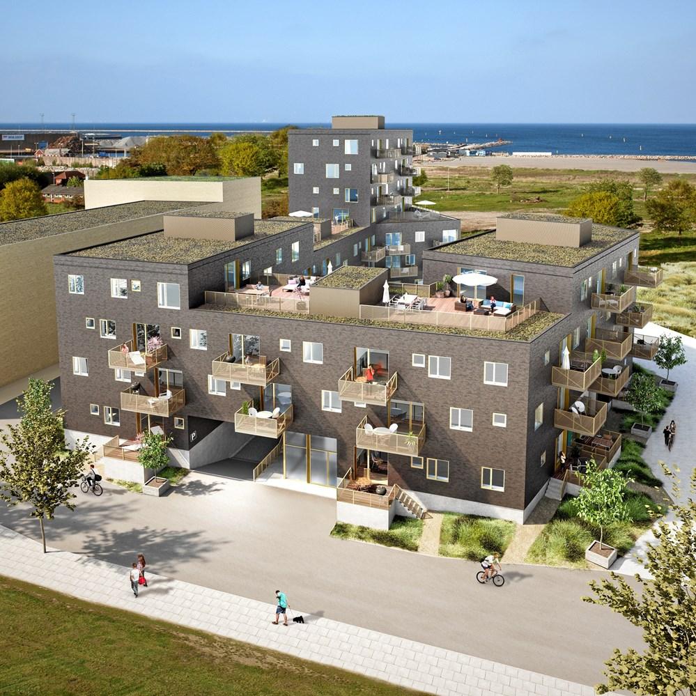 Moderne Arkitektgruppen tager første spadestik til boligbyggeri i ny Køge-bydel GO88