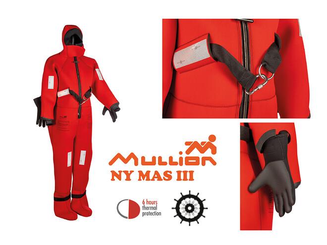 MAS III redningsdragt