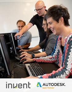 Stort og spændende udvalg af Autodesk Inventor kurser hos Invent A/S