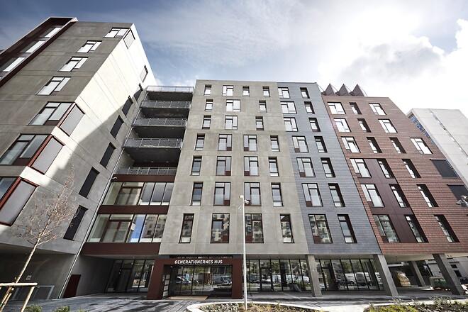 Danmarks største byggeri til flere generationer. Generationernes Hus, Aarhus Ø