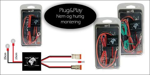Plug&Play ledningsnet