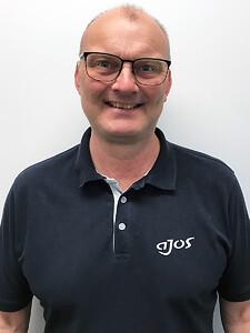 René Tietze er ansat hos Ajos a/s som sælger af skurløsninger primært på det sjællandske marked.
