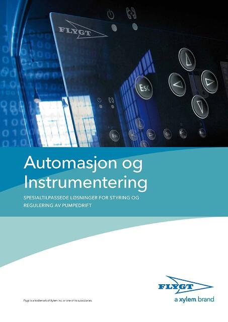 Automasjon og Instrumentering fra Xylem Water Solutions Norge AS