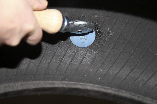 lapning af dæk