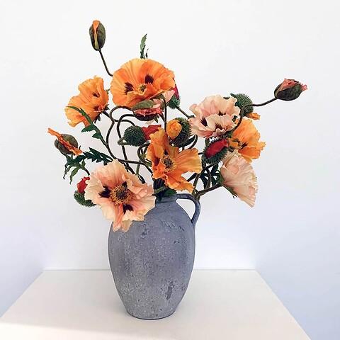 Blomster til maria buket af valmuer, vild og høj