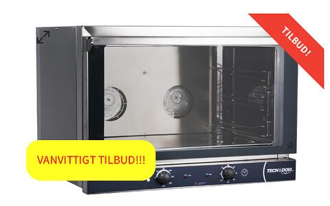 Bakeoff ovn, italiensk kun 4495 kr. hos Cateringinventar.dk