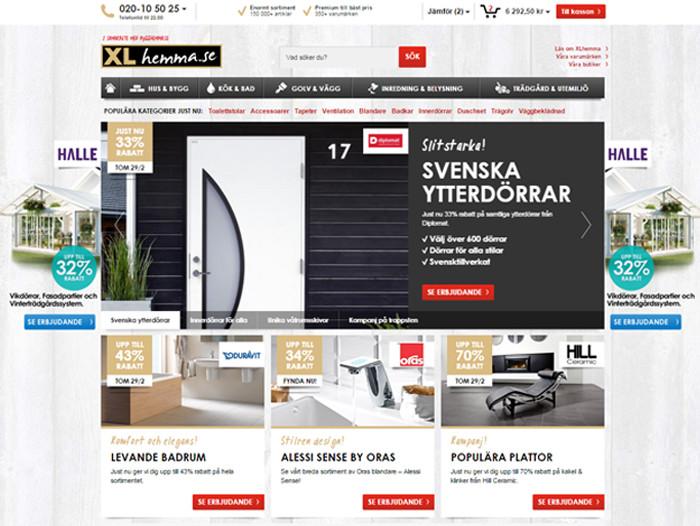 bygghandel på nätet