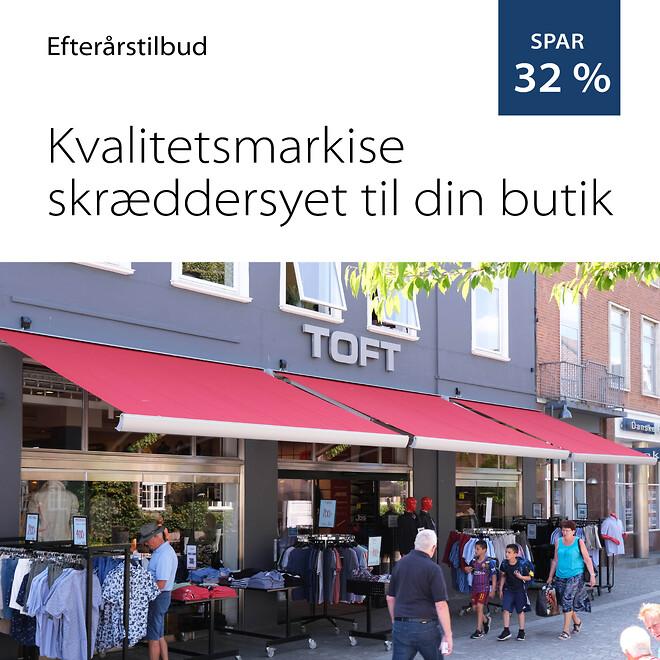 Efterårstilbud på Danmarks bedste markiser. Alux A/S